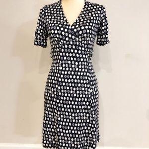 Lilly Pulitzer   silk wrap dress